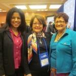 Ramona Houston, Margaret Moran (National President of LULAC), Blanca Vargas (LULAC, Chicago)
